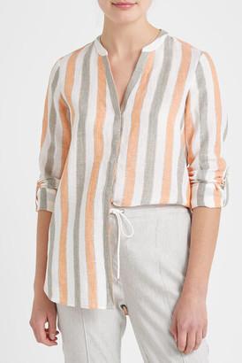 Sportscraft Mojito Linen Stripe Shirt