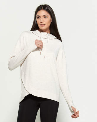 Yogalicious Cowl Neck Hooded Tunic
