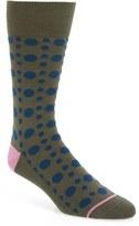 Paul Smith Men's 'Punch' Dot Socks