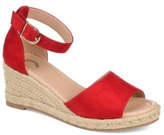 Journee Collection Keana Espadrille Wedge Sandal