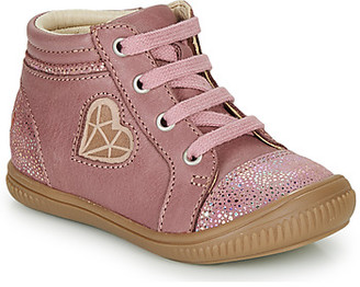 GBB OTANA girls's Shoes (High-top Trainers) in Pink
