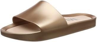 Melissa Women's Beach Slide Shine Open Back Slippers