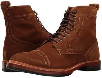 Stacy Adams Madison II (Tan Suede) Men's Shoes