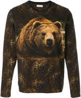 Etro bear print top - men - Cotton - S