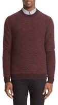 Givenchy Men's Mohair Blend Fishnet Pullover