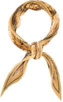 Hermes Casse-Noisette Plissé Silk Scarf