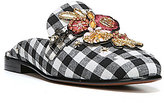 Sam Edelman Pemberly 2 Gingham Embellished Mules