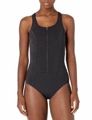 Amoena Women's Key West One Piece Pocketed Mastectomy Swimwear
