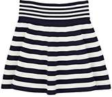 Milly Kids' Striped Compact Knit Skirt