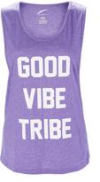 L.A. Gear Purple Heather 'Good Vibe Tribe' Tank
