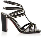 Christian Louboutin Women's Zenobissma Leather Sandals