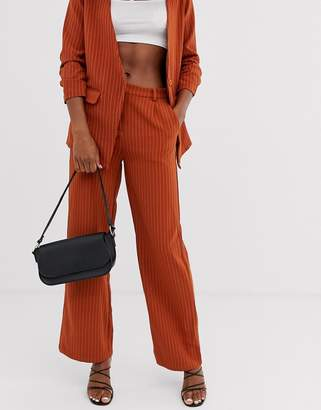 Vila flared suit trousers
