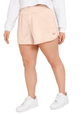 Nike Plus Size Side-Snap Shorts