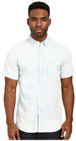 Obey Keble Short Sleeve Woven Top