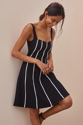 Maeve Sweetheart Mini Dress By in Black Size 10