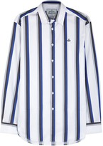 Vivienne Westwood White Striped Cotton Shirt