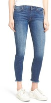 Women's 7 For All Mankind Frayed Hem Ankle Skinny Jeans