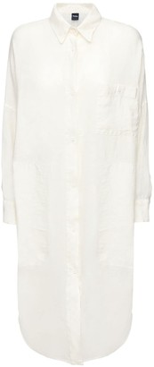 Max Mara Linen Shirt Dress