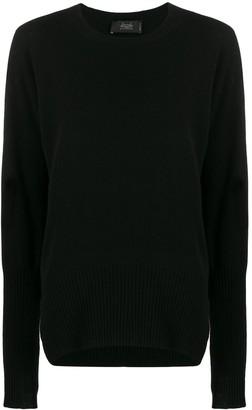 Maison Flaneur side-slit cashmere jumper