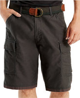 Levi's Men's Fort Relaxed-Fit Graphite Cargo Shorts
