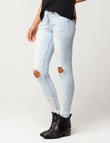 Almost Famous Blowout Knee Womens Skinny Jeans