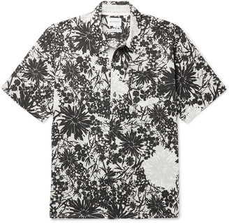 Norse Projects Carsten Floral-Print Cotton Shirt