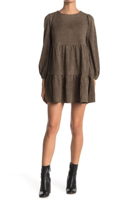 Flying Tomato Suede Mini Dress