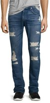 7 For All Mankind Paxtyn Distressed Denim Jeans, Forgotten Cove