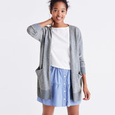 Madewell Summer Ryder Cardigan Sweater in Stripe