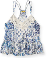 Prince & Fox Paisely Babydoll Tank