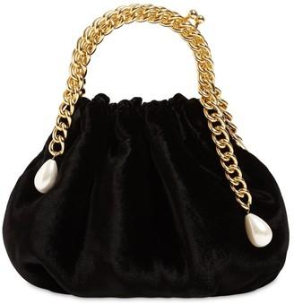 Rosantica Maria Louise Velvet Top Handle Bag