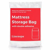 LINENSPA Mattress Storage Bag with Double Adhesive Closure - Fits Queen, Full and Full XL