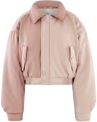 Nanushka Bomi jacket in vegan leather