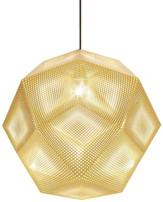 Tom Dixon Etch Brass Pendant Lamp