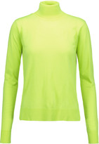 MM6 MAISON MARGIELA Neon wool-blend turtleneck sweater