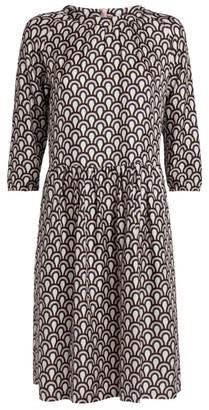 Max Mara Minorca Silk Twill Dress