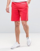Jack Wills Balmore Sweatshorts In Washed Red