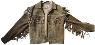 Levi's Made & Crafted Camel Suede Jacket for Women