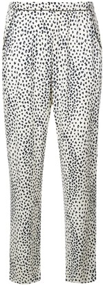 Fleur Du Mal leopard print pyjama bottoms