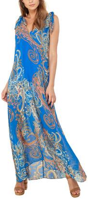 Hale Bob A-Line Maxi Dress