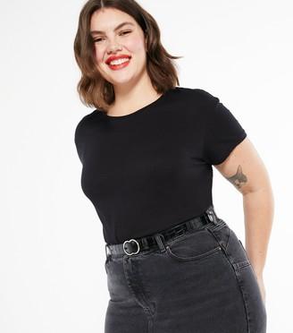 New Look Curves Plain T-Shirt