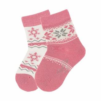 Sterntaler Baby Girls' Sockchen 2Er-Pack Calf Socks