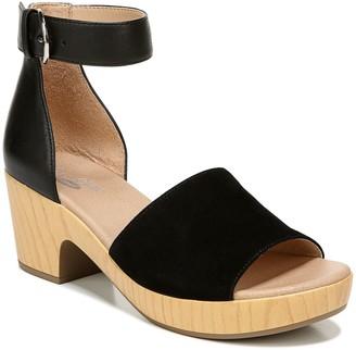 Dr. Scholl's Ankle-Strap Platform Leather Sandals - Flora