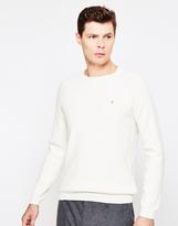 Farah Keighley Crewneck Sweatshirt Cream
