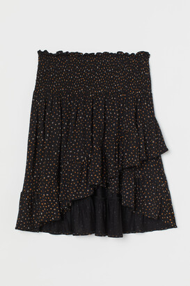 H&M MAMA Flounce-trimmed Skirt