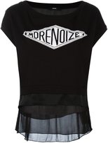 Diesel 'morenoize' print T-shirt - women - Cotton/Viscose - L