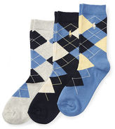 Ralph Lauren Argyle Sock 3-Pack