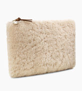 UGG Women's Large Zip Pouch Sheepskin