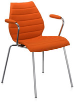 Kartell Maui Soft Armchair - Orange