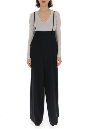 MM6 MAISON MARGIELA Suspenders Flared Jumpsuit